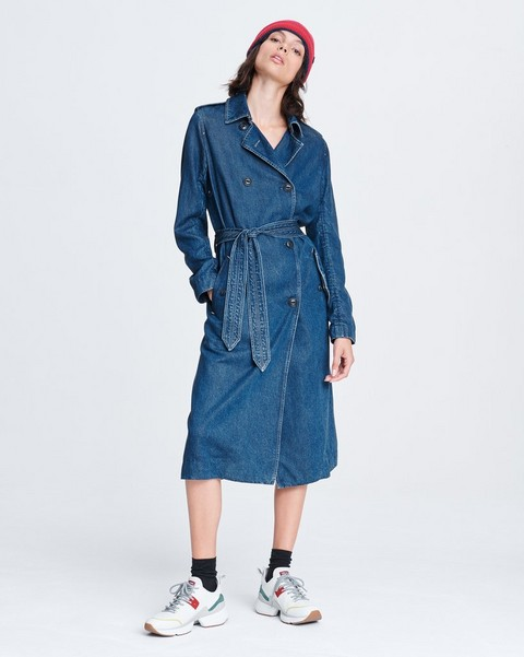 RAG & BONE TAILORED TRENCH COAT