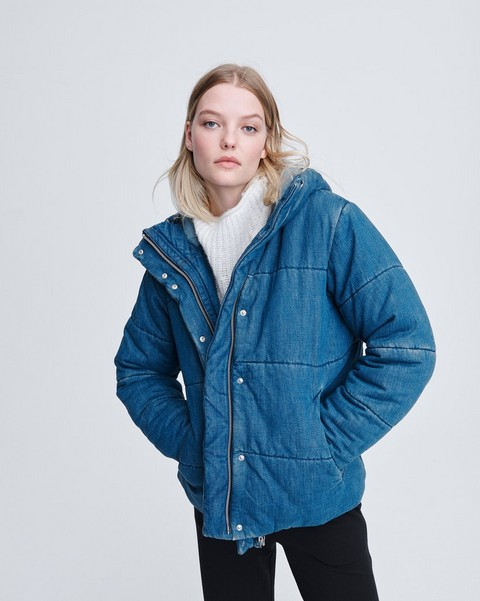 RAG & BONE DENIM PUFFER