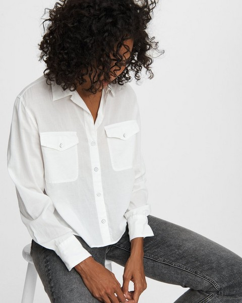 RAG & BONE May Viscose Shirt