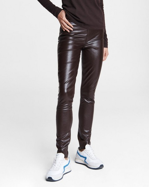 RAG & BONE Nina Faux Leather Skinny Pant