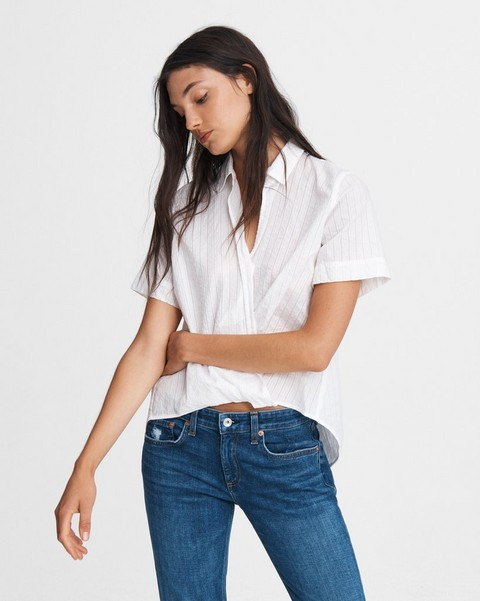 RAG & BONE KRISTINE COTTON TOP
