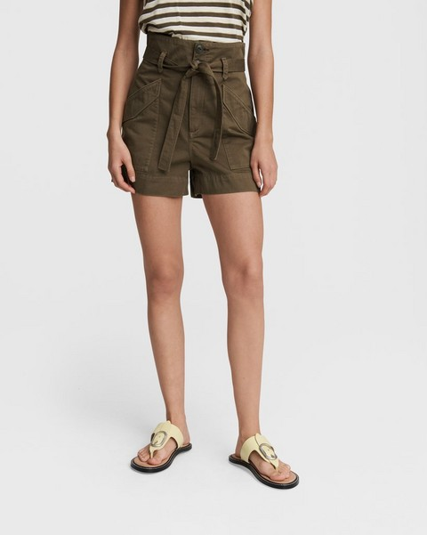 RAG & BONE Field Cargo Cotton Short