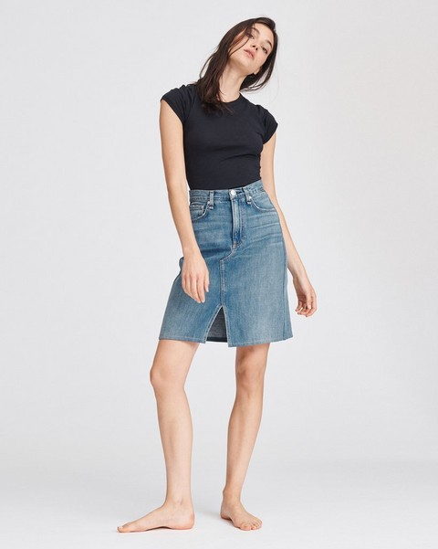 RAG & BONE SUPER HIGH RISE CUSTOM SKIRT