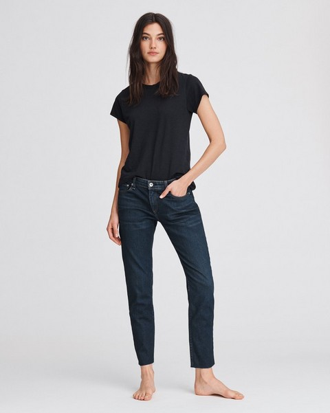 RAG & BONE Dre Low-Rise Boyfriend - New Worn