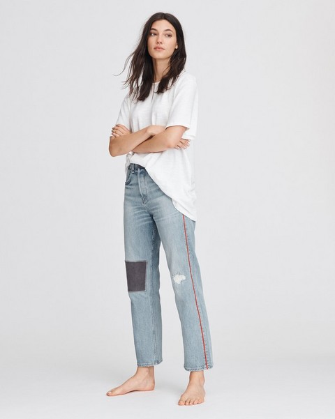 RAG & BONE MAYA HIGH-RISE ANKLE STRAIGHT