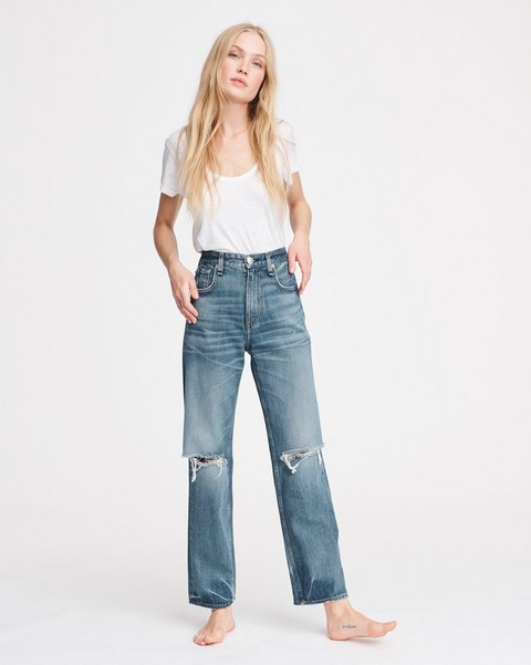 RAG & BONE SUPER HIGH-RISE CUSTOM JEAN