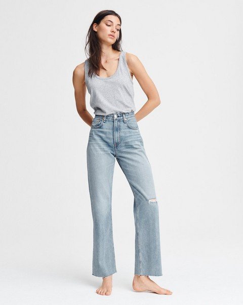 RAG & BONE RUTH SUPER HIGH-RISE STRAIGHT