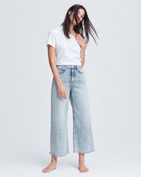RAG & BONE RUTH SUPER HIGH-RISE ANKLE WIDE LEG
