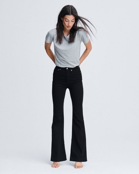RAG & BONE JANE SUPER HIGH-RISE FLARE