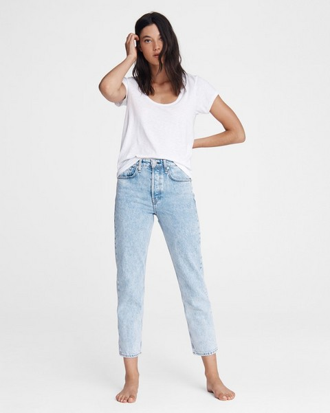 RAG & BONE Maya High-Rise Slim - Agate