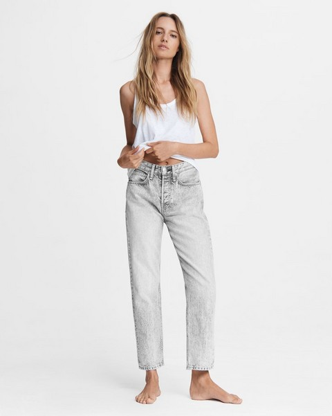 RAG & BONE Maya High-Rise Slim - Acid