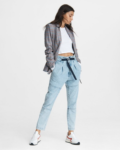 RAG & BONE Belted Hunter Denim Pant