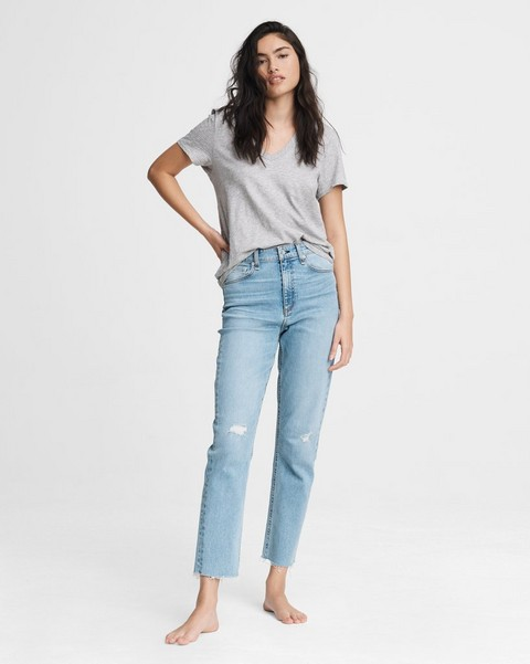 RAG & BONE Nina High-Rise Cigarette - Starway