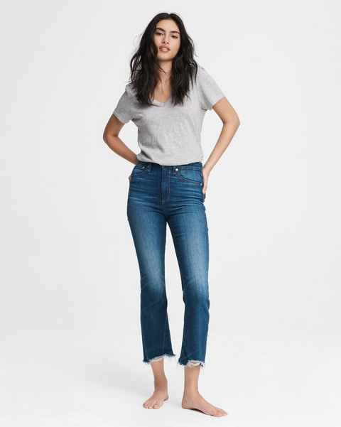 RAG & BONE Nina High-Rise Flare - Crossfield
