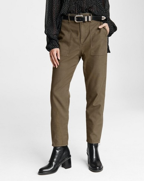 RAG & BONE Lily Cargo Cotton Chino