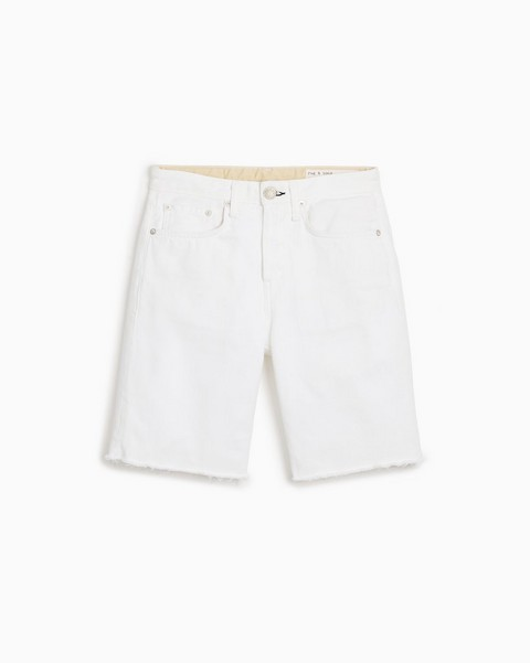 RAG & BONE Maya High-Rise Walking Short - Worn White