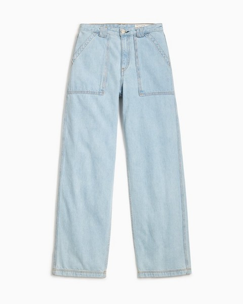 RAG & BONE Skater Ultra High-Rise Straight - Clean East End