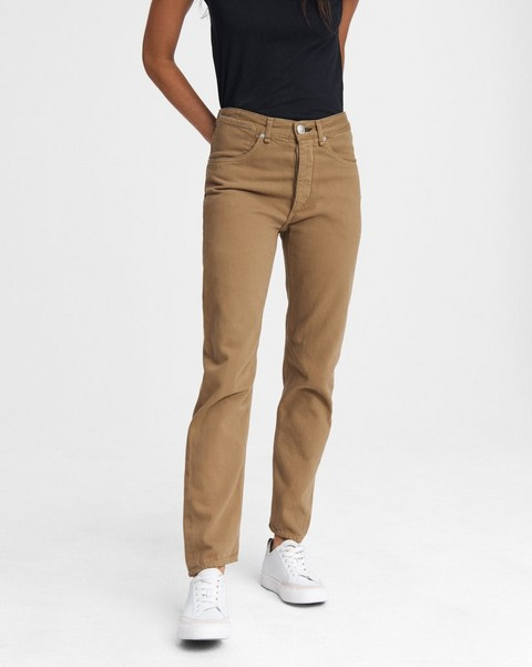 RAG & BONE Engineer High-Rise Straight - Butternut