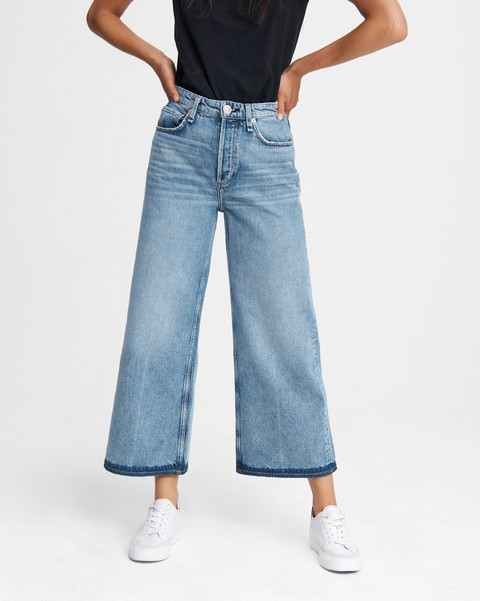 RAG & BONE Ruth Super High-Rise Wide Leg - Brix