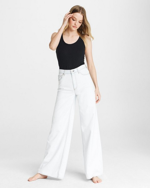 RAG & BONE Ruth Super High-Rise Ultra Wide Leg - Skyland