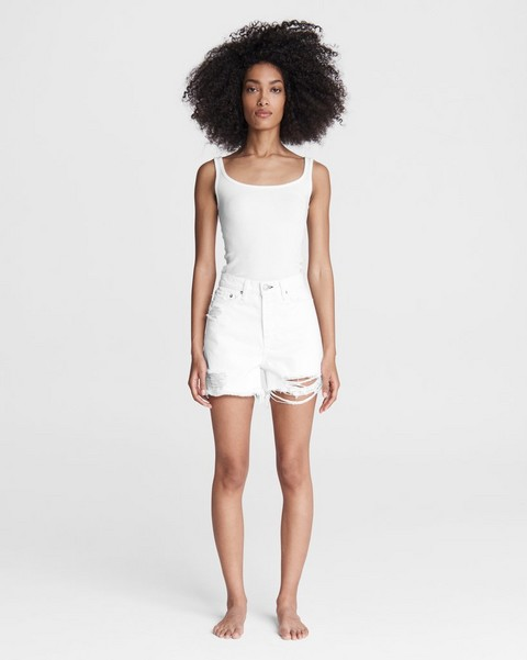 RAG & BONE Maya High-Rise Shorty Short - Summer