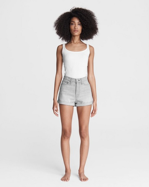 RAG & BONE Maya High-Rise Shorty Short - Anchor