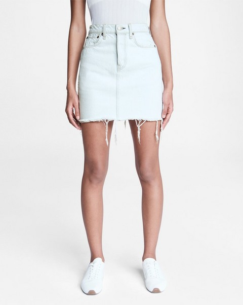 RAG & BONE Vintage High-Rise Mini Skirt