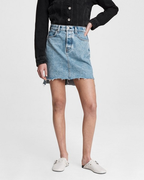 RAG & BONE High-Rise Mini Skirt
