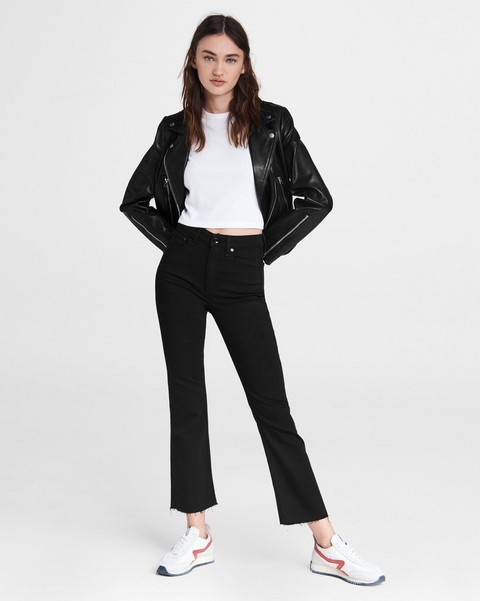 RAG & BONE Nina High-Rise Flare - Black
