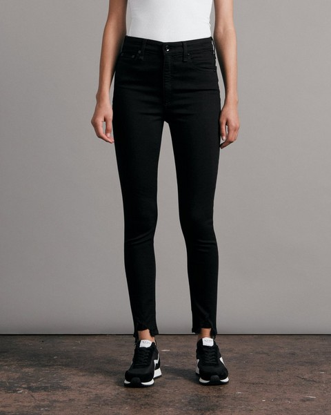 RAG & BONE Nina High-Rise Skinny - Black