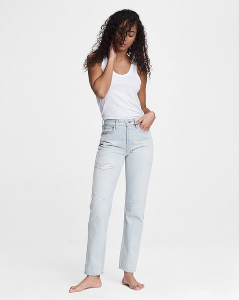 RAG & BONE Maya High-Rise Slim - Raven