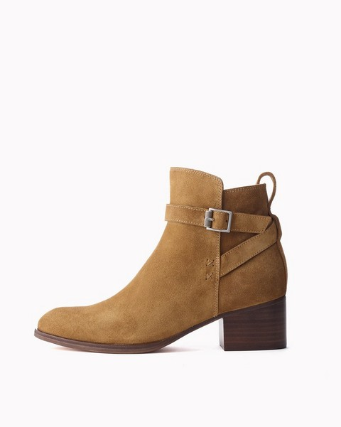 RAG & BONE WALKER BUCKLE Boot - suede