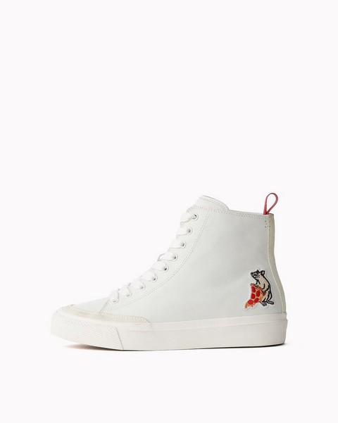RAG & BONE PIZZA RAT RB HIGH TOP