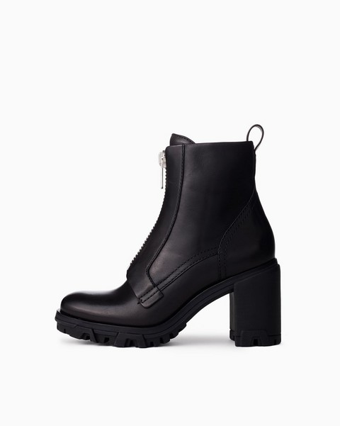 RAG & BONE Shiloh High Zip Boot - Leather