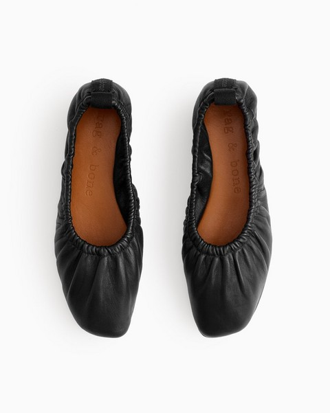 RAG & BONE Elly Flat - Leather
