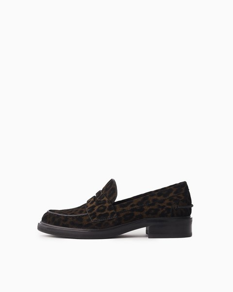 RAG & BONE Slayton Loafer - Cheetah Lasered Suede