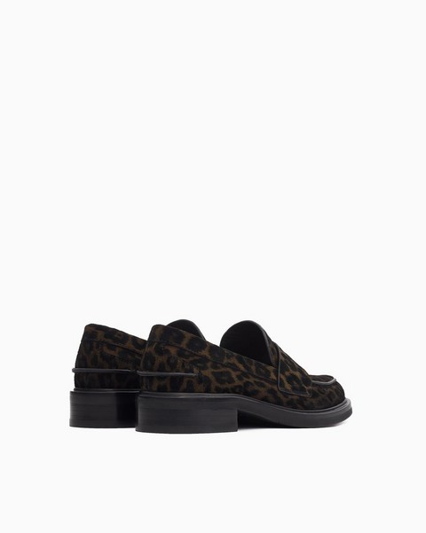 null Slayton Loafer - Cheetah Lasered Suede