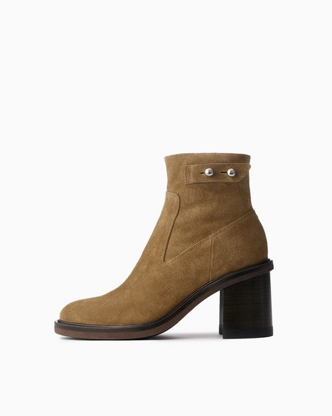 RAG & BONE Soren Moto High Boot - Suede