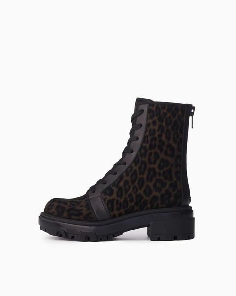 RAG & BONE Shaye Hiker Boot  - Cheetah Print Suede