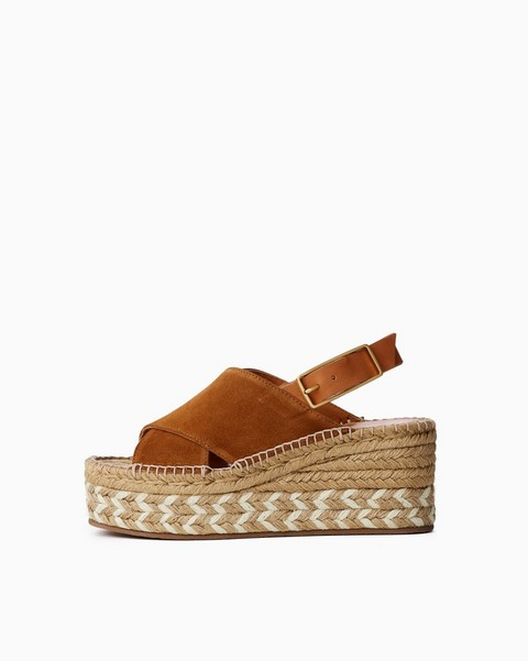 RAG & BONE Tari Wedge - Suede