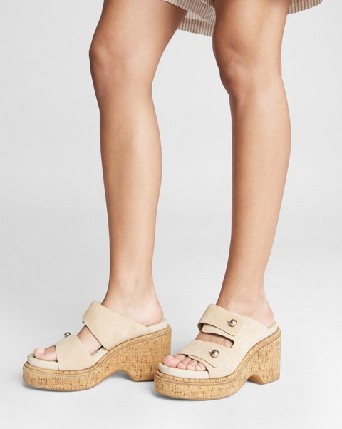null Sommer Wedge - Suede
