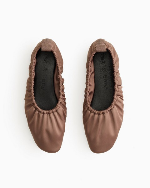 RAG & BONE Elly Flat - Leather and Recycled Materials