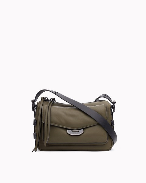 RAG & BONE SMALL FIELD MESSENGER PUFFER