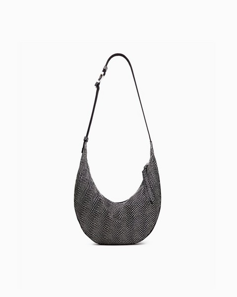 RAG & BONE Riser Crossbody - Snake Print Leather