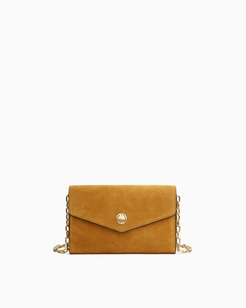 RAG & BONE Atlas Chain Crossbody Wallet - Suede