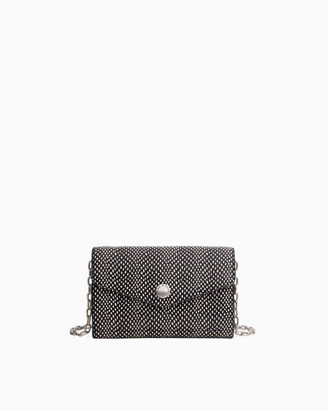 RAG & BONE Atlas Chain Crossbody Wallet - Snake Printed Leather