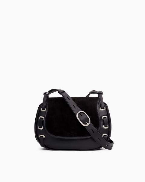 RAG & BONE Legend Saddle Bag - Leather
