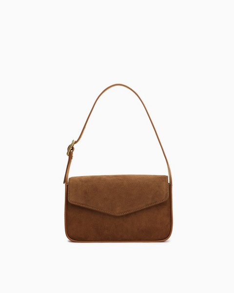 RAG & BONE Soiree Evening Bag - Suede
