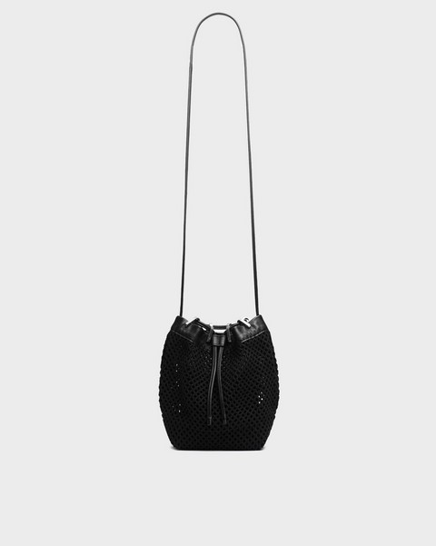 RAG & BONE Summer Dayton Drawstring Bag - Leather and Recycled Materials