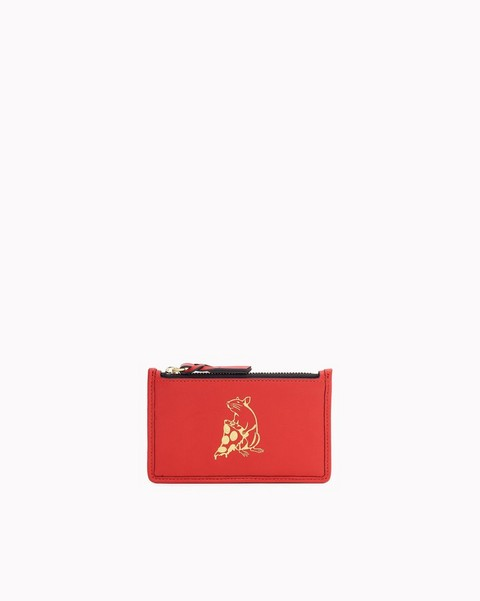 RAG & BONE PIZZA RAT FIELD ZIP CARD CASE